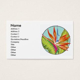 Bird of Paradise, Business Card