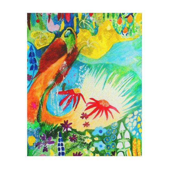 Bird of Paradise. Canvas Print