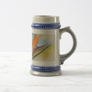 Bird Of Paradise Flower Art - Multi Coffee Mug
