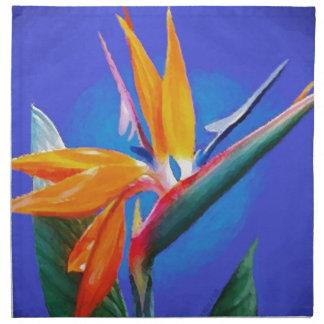 Bird of Paradise Flower Napkins