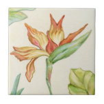 Bird of Paradise Flower Tile