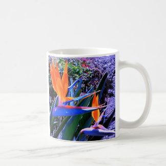 Bird of Paradise Hawaii Basic White Mug
