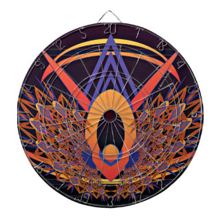 Bird of Paradise Metal Cage Dartboard