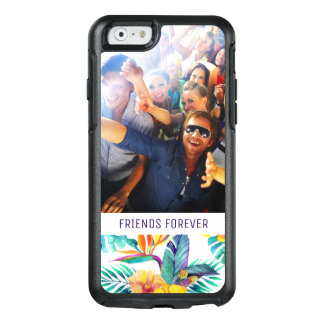 Bird Of Paradise & Orchid | Add Your Photo & Text OtterBox iPhone 6/6s Case