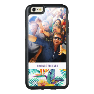 Bird Of Paradise & Orchid | Add Your Photo & Text OtterBox iPhone 6/6s Plus Case