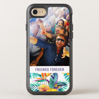 Bird Of Paradise & Orchid | Add Your Photo & Text OtterBox Symmetry iPhone 8/7 Case