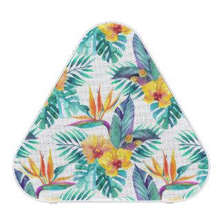Bird Of Paradise & Orchid Pattern