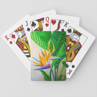 Bird of Paradise Playing Cards