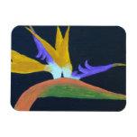 Bird Of Paradise Premium Flexible Magnet