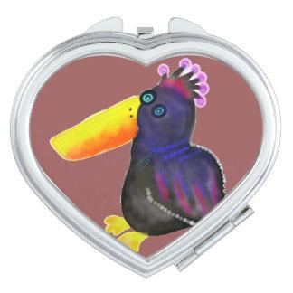 Bird of Paradise Travel Mirrors