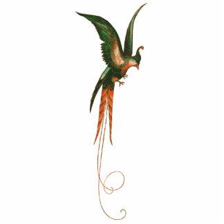 Bird of Paradise Vintage Art Standing Photo Sculpture