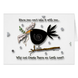 Bird of Peace Card