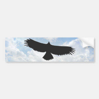 Bird of Prey 01 - Bumper Sticker Car Bumper Sticker