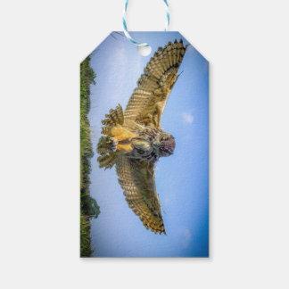 Bird of Prey Gift Tag