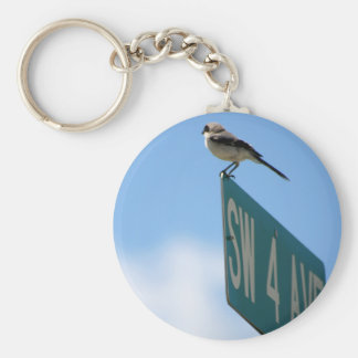 Bird on 4th Ave. keychain