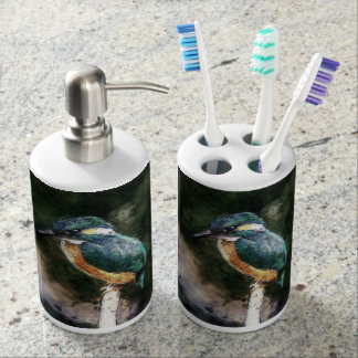 Bird On A Branch Toothbrush Holders