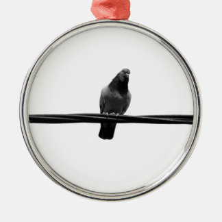 bird on a wire christmas ornament