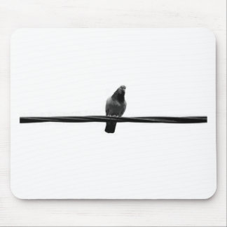 bird on a wire mouse mat