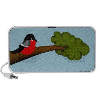 Bird on Branch iPod Speakers