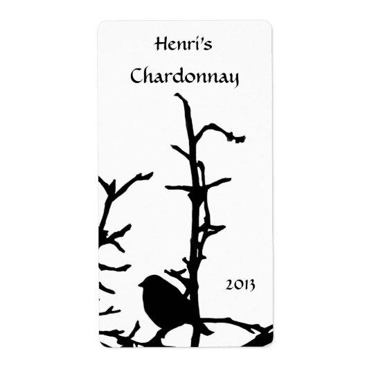 Bird on Branch White Wine