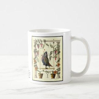 Bird on Swing 15 oz. Coffee Mug