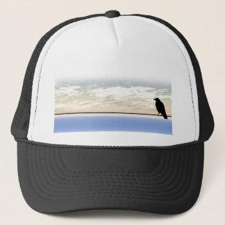 Bird On To Wire Trucker Hat