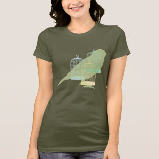Bird out of the cage T-Shirt