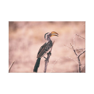 Bird Outdoor Canvas Print