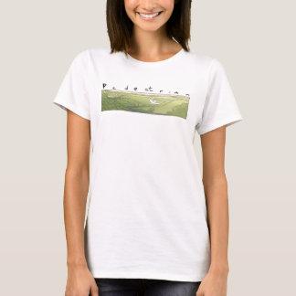 Bird over Landscape T-Shirt