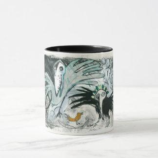 Bird Painting Mug