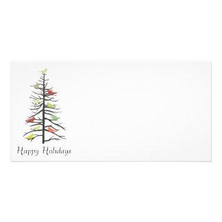 Bird Paper Tree Customised Photo Card