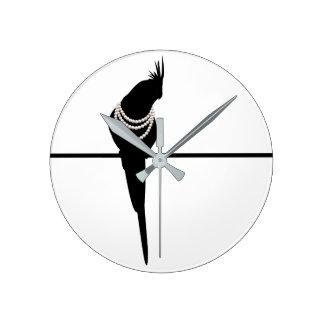 Bird&Pearl clock 01