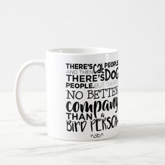 Bird People Coffee Mug
