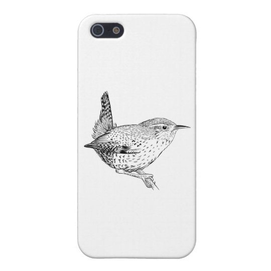 Bird Phone Case 5/5s Wren iPhone 5/5S Cover