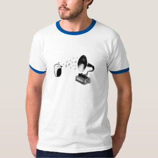 Bird Phonograph T-Shirt