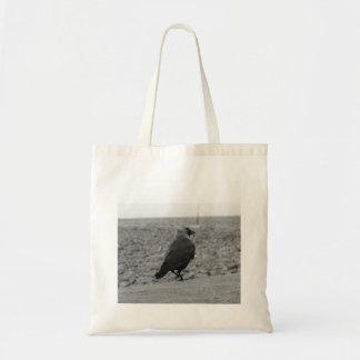 Bird Picture. Jackdaw. Canvas Bag