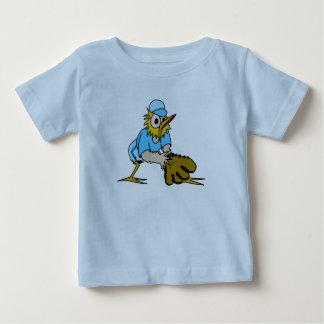Bird Playing Base Ball Baby T-Shirt