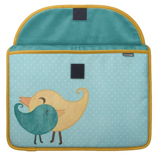 Bird Rickshaw Flap Sleeve Sleeve For MacBook Pro