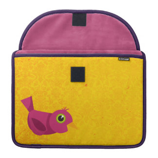 Bird Rickshaw Flap Sleeve Sleeve For MacBooks