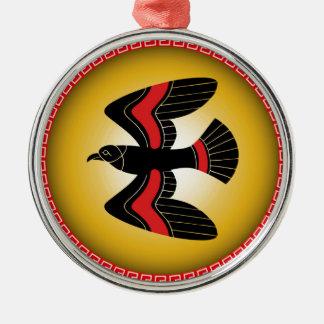 bird shield christmas ornament