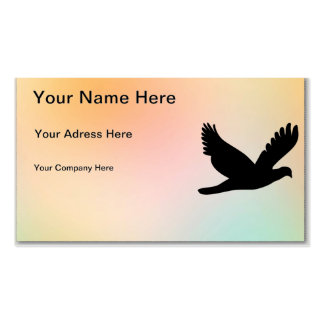 Bird Silhouette Pack Of Standard Business Cards