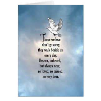 "Bird ""So Loved"" Poem Card"