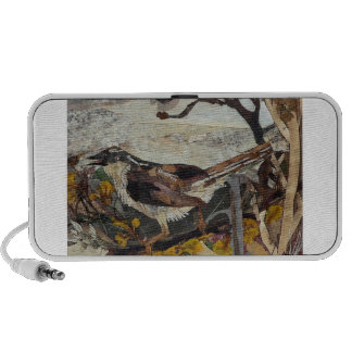 Bird Sparrow iPod Speaker