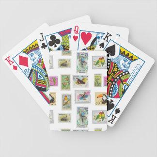 Bird Stamps Card Decks