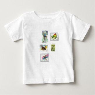 Bird Stamps T Shirt