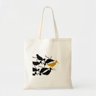 Bird Stew Odd Bird Out Budget Tote Bag