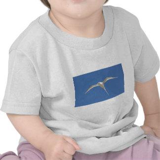 Bird Straw in Mauritius Tail Tee Shirt