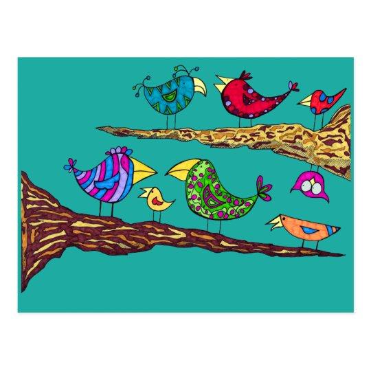 Bird Talk Postcard