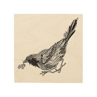 Bird Tattoo 5 Wood Prints