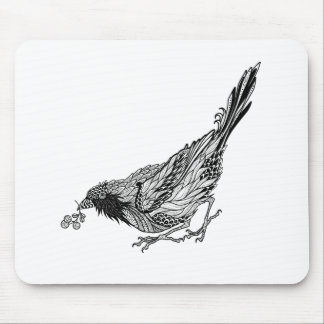 Bird Tattoo Mouse Mat